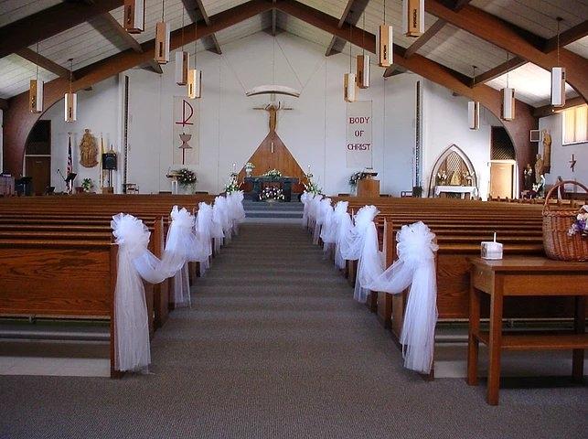 Church tulle